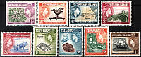 Pitcairn Islands 1957 MNH / XF полная серия