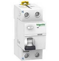 УЗО Schneider Electric Acti9 ilD, 2P 40A 30мА, тип AC A9R41240