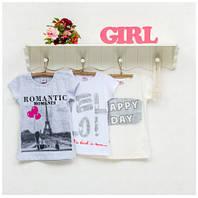 Блузка для девочек ТМ Фламинго, стрейч-кулир (артикул 914-416)