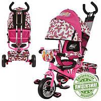 Детский трехколесный велосипед Profi Trike WX 0102 WINX