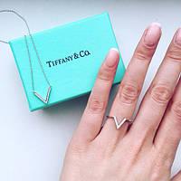 Кольцо женское Tiffany 11235 серебро 925