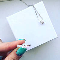 Кольцо женское Tiffany 11236 серебро 925