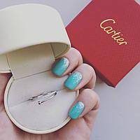 Кольцо женское Cartier 11237 серебро 925