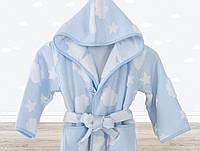 Халат детский Irya Cloud голубой 5-6 лет