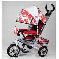 Детский трехколесный велосипед Profi Trike LE-3-03UKR А резина