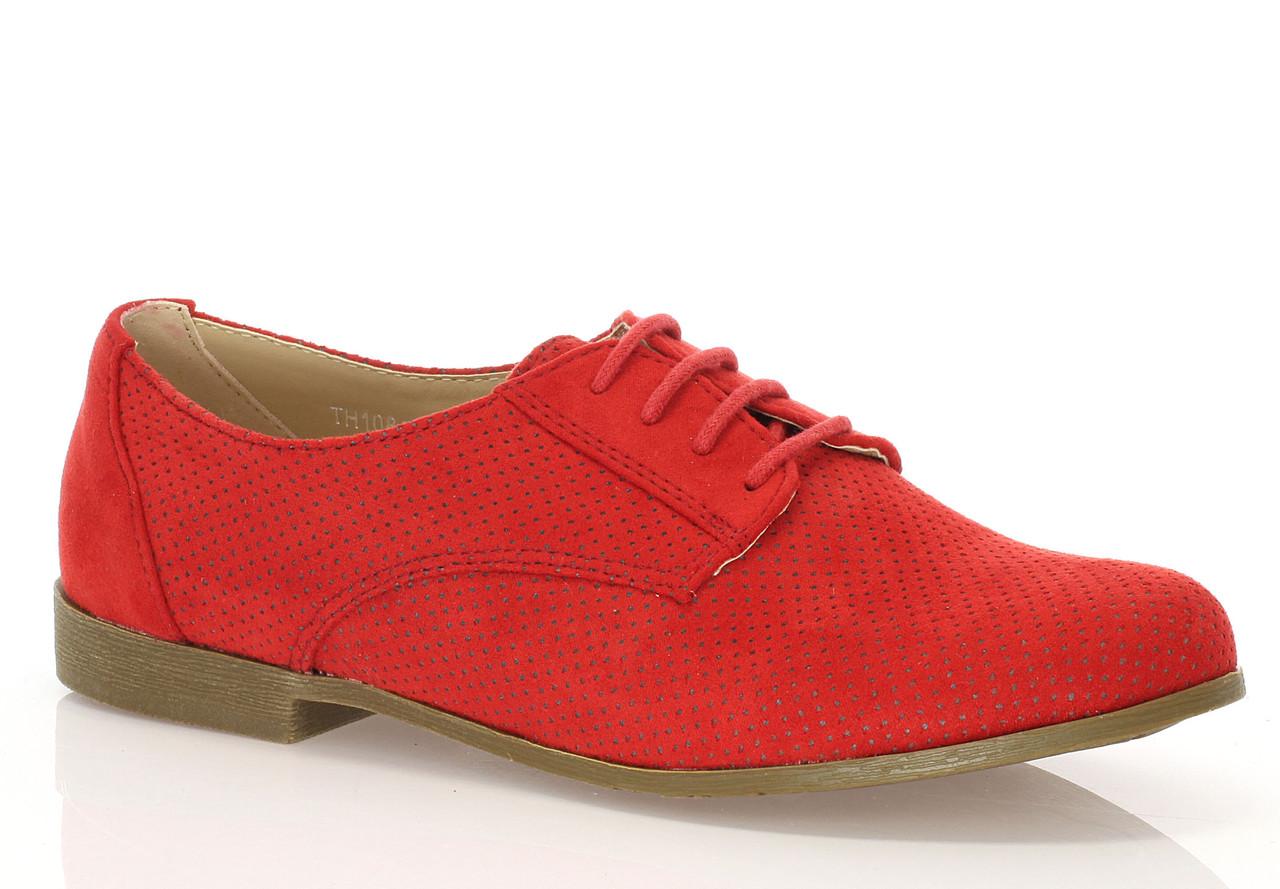 Женские полуботинки Woodland red