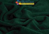 Ангора трикотаж темно- зеленый