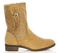 Женские ботинки Yuba camel, фото 1