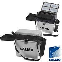 Ящик рыболовный зимний Salmo  (Большой)39,5х24x37,5см (2075)