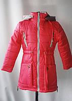 """Куртка- парка """"Элисс"""" для девочек от 4до 7лет(110 -128рост)"""