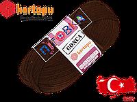 Пряжа Kartopu Gonca 890 коричневый