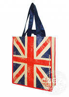 "Сумка спанбонд без замка ""Британский флаг"""