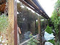 Прозрачные шторы ПВХ для веранды, фото 1