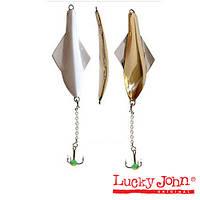 Блесна вертикальная зимняя Lucky John GLIDER 10г 60мм GS блистер (101-3-GS)