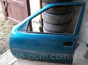 Дверь передняя левая Opel Vectra A.