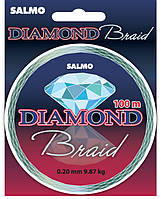 Леска плетёная Salmo DIAMOND BRAID 100/0.24 (4905-024)