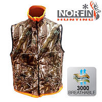 Безрукавка из флиса Norfin Hunting Reversable Vest Passion/Orange (724004-XL)