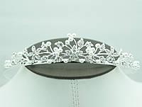 Свадебная тема -жемчужные диадемы с кристаллами оптом. Аксессуары для свадебного торжества. 66