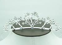 Красивейшие тиары и диадемы для невест. Аксессуары для свадебной причёски оптом. 67