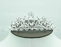 Эффектная свадебная корона. Пленительная свадебная бижутерия оптом в Украине. 74