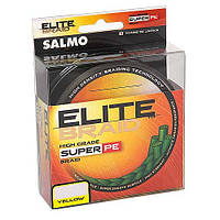 Леска плетёная Salmo Elite Braid 125/0.28 Yellow (4818-028)