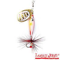 Блесна вращающаяся Lucky John TRIAN BLADE ROUND 06.0г 002 (LJTBR6-002)