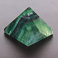 [4/3,5см] Пирамида из натурального камня Флюорит