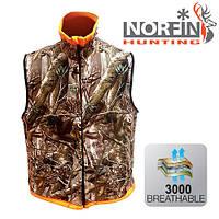 Безрукавка из флиса Norfin Hunting Reversable Vest Passion/Orange (724001-S)