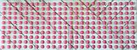 Половинки бусин, на клеевой основе, диаметр 7 мм, 240 шт., цвет розовый