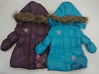 Куртка зимняя для девочки SMILE
