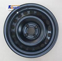 Диски колесные Hyundai Solaris, Kia Rio R15 W6 PCD 4x100 ET48 DIA56.5 штампованные, стальные (КрКЗ)