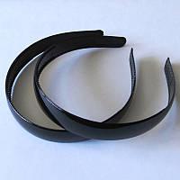 Основа для обруча, пластик, ширина 18 мм,  цвет черный
