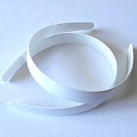 Основа для обруча, пластик, ширина 18 мм,  цвет белый