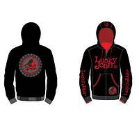 Куртка флисовая с капюшоном Lucky John р.XXXL (LJ-103-XXXL)