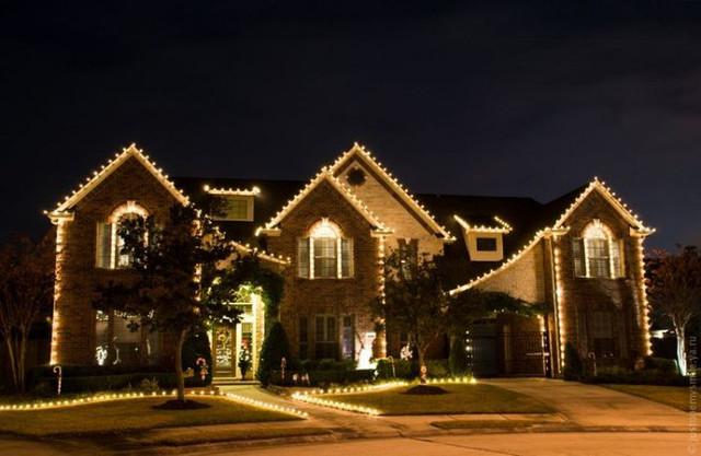Рождественское оформление для дома