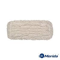 Моп-тряпка 40 см. петельная дезинфекционная Merida Econom на карманы, фото 1