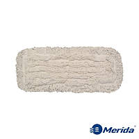 Моп-тряпка 40 см. петельная дезинфекционная Merida Econom на карманы