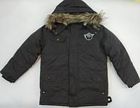 Куртка  двойная зимняя для мальчика