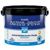 Шпаклевка ACRYL-PUTZ FS20 финиш,17кг