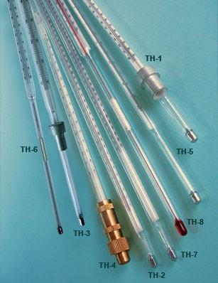 Термометры для испытания нефтепродуктов ТН