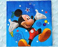 """Праздничные салфетки """"Микки Маус"""", 33*33 см, двухслойная"""
