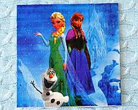 """Праздничные салфетки """"Frozen"""", 33*33 см, двухслойная"""