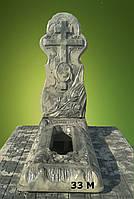 """Ритуальные памятники """"Новый крест"""", Код 33"""