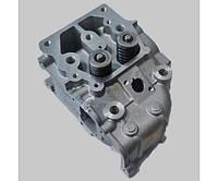 Головка цилиндра в сборе два болта дизельного двигателя 9л.с. 186F (Yanmar 100) мотоблока