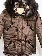 Зимняя подростковая куртка  7750