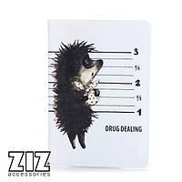 Обложка для паспорта Drug dealer