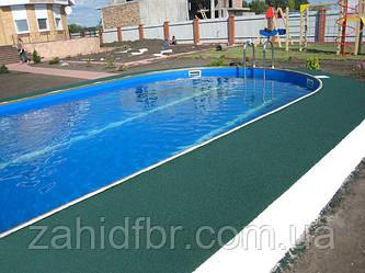 Безшовне гумове покриття для басейнів / покрытие для басейнов