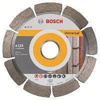 Алмазний диск п/бетону, 125мм Сегмент PF Універсальний, BOSCH 2608603245