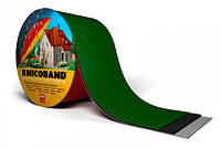 NICOBAND Самоклеюча герметизуюча бітумна Зелена стрічка 10м х 10см /ТехноНІКОЛЬ