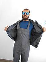 Костюм рабочий (куртка + полукомбенизон)